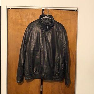 Wilson's Leather Leather Jacket Men's XL Black